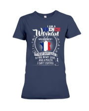 I'm a French Woman - I Can't Control Premium Fit Ladies Tee thumbnail