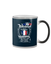 I'm a French Woman - I Can't Control Color Changing Mug tile