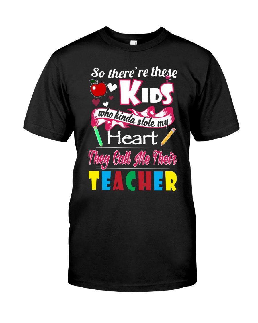 TEACHER TEACHER TEACHER TEACHER  Classic T-Shirt