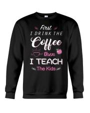 TEACHER TEACHER TEACHER TEACHER  Crewneck Sweatshirt thumbnail