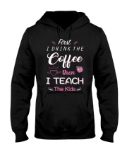 TEACHER TEACHER TEACHER TEACHER  Hooded Sweatshirt thumbnail
