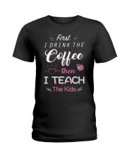TEACHER TEACHER TEACHER TEACHER  Ladies T-Shirt front