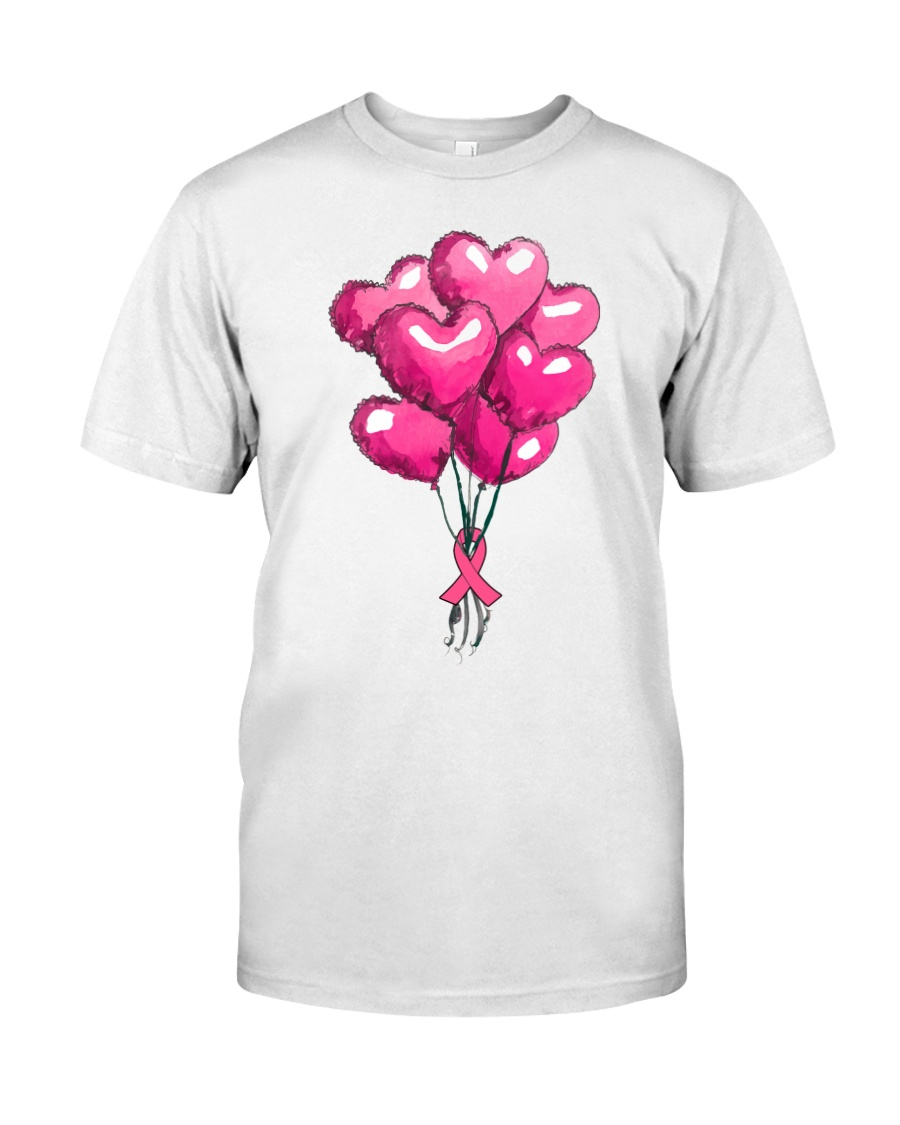 Breast Cancer Ballon Classic T-Shirt
