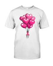 Breast Cancer Ballon Classic T-Shirt front