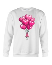 Breast Cancer Ballon Crewneck Sweatshirt thumbnail