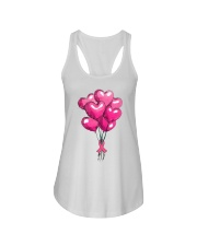 Breast Cancer Ballon Ladies Flowy Tank thumbnail