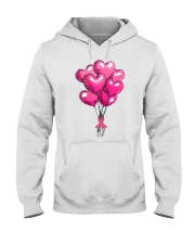 Breast Cancer Ballon Hooded Sweatshirt thumbnail