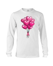 Breast Cancer Ballon Long Sleeve Tee thumbnail