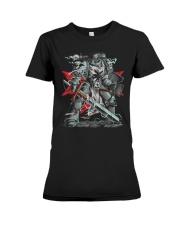 Black Templars Premium Fit Ladies Tee thumbnail