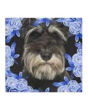 Miniature Schnauzer-Blue Mask Cloth face mask aos-face-mask-coverlet-lifestyle-front-02