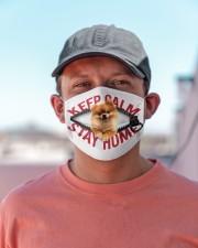 Pomeranian-Mask-Stay Home Cloth face mask aos-face-mask-lifestyle-06