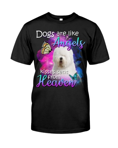 Old English Sheepdog-From Heaven