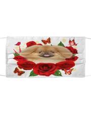 Pekingese-Face Mask-Rose Cloth face mask front
