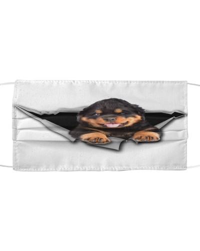 Rottweiler-Face Mask-Torn