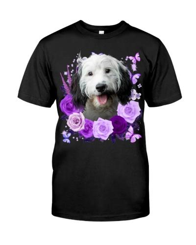 Cockapoo-Purple Flower