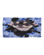 Chihuahua-Blue Mask Cloth face mask front