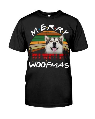 Alaskan Malamute-Merry Woofmas