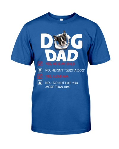 Boston Terrier-Dog Dad