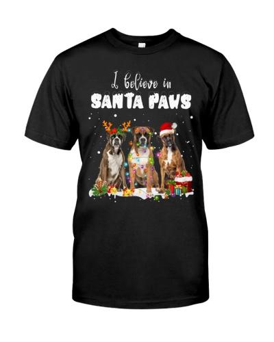 Boxer-Santa Paws