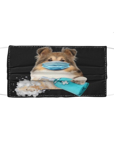 Shetland Sheepdog-Face Mask-Wash