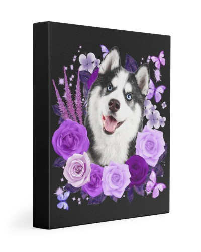 Husky-Canvas Purple