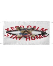 Yorkshire Terrier-US-Keep Calm Cloth face mask front