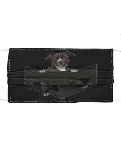 American Pit Bull Terrier-Face Mask-Pocket