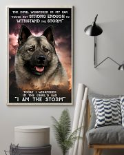 Norwegian Elkhound - Storm 24x36 Poster lifestyle-poster-1