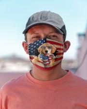 Golden Retriever-US Mask Cloth face mask aos-face-mask-lifestyle-06