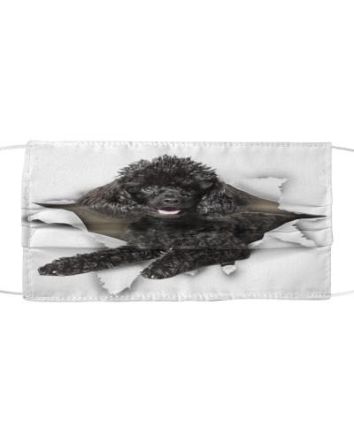 Poodle-Black-Face Mask-Torn02