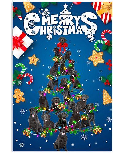 Black Labrador-Merry Christmas