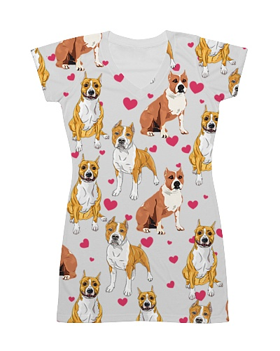 American Pit Bull Terrier - Heart