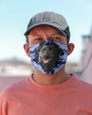 Australian Kelpie-Blue Mask Cloth face mask aos-face-mask-lifestyle-06
