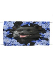 Australian Kelpie-Blue Mask Cloth face mask front