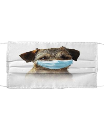 Border Terrier-Face Mask-Mask