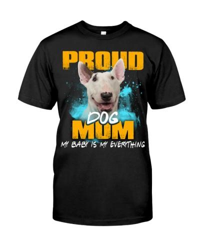 Bull Terrier-Proud Dog Mom