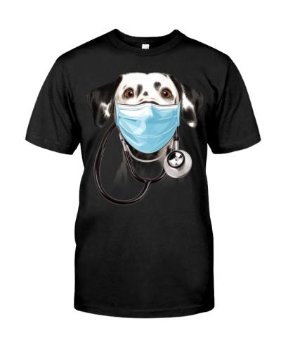 Dalmatian-Doctor Dog