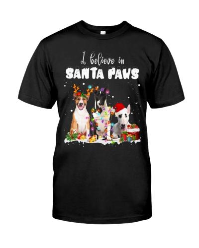 Bull Terrier-Santa Paws