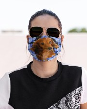 Dachshund-03-Blue Mask Cloth face mask aos-face-mask-lifestyle-02