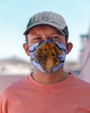Dachshund-03-Blue Mask Cloth face mask aos-face-mask-lifestyle-06