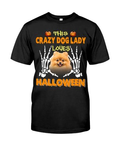 Pomeranian-Loves Halloween