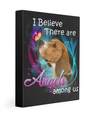 Beagle-Canvas Angels