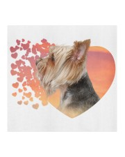 Yorkshire Terrier-My Life-Mask Cloth face mask aos-face-mask-coverlet-lifestyle-front-02
