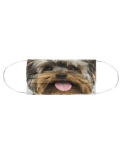 Yorkshire Terrier-Face Mask Cloth face mask aos-face-mask-coverlet-lifestyle-front-01
