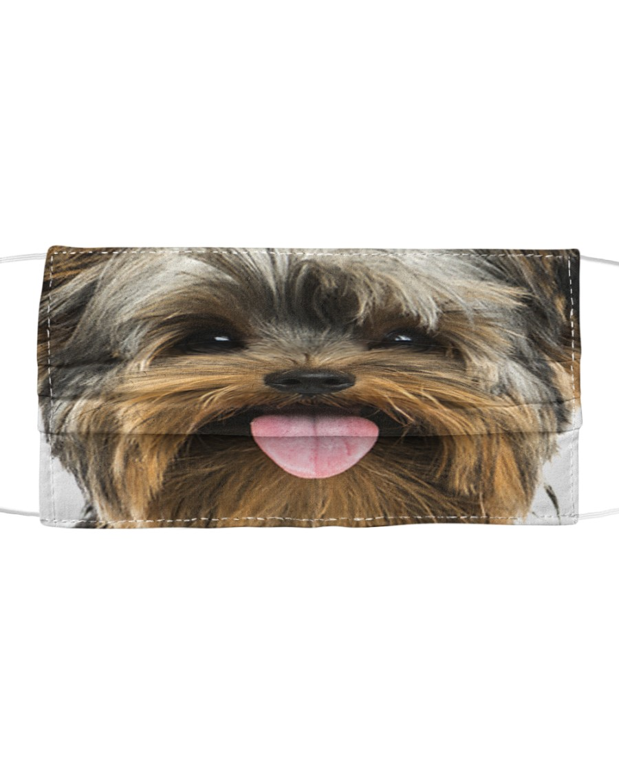 Yorkshire Terrier-Face Mask Cloth face mask