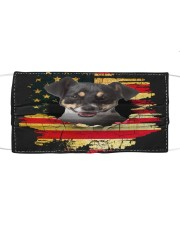 Jack Russell Terrier-02-Mask USA  Cloth face mask front