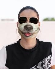Golden Retriever-Mask Mouth Cloth face mask aos-face-mask-lifestyle-02