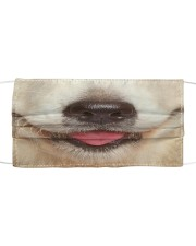Golden Retriever-Mask Mouth Cloth face mask front