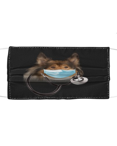 Rough Collie-Face Mask-Doctor
