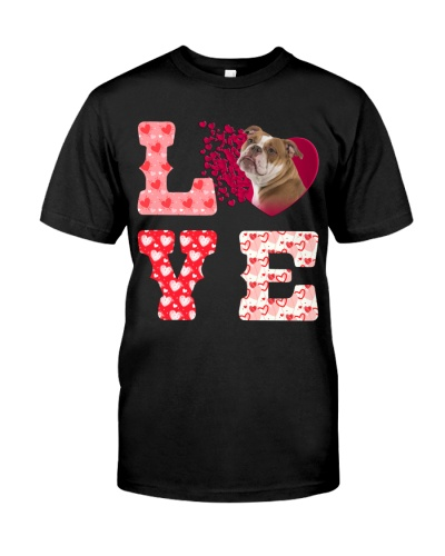 English Bulldog-Love-Valentine
